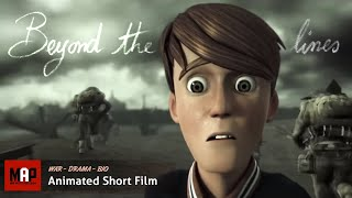 BEYOND THE LINES | Violence, through the eyes of children - Inspiring 3D CGI Animation by ESMA