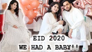 Meet Our Baby | First Eid Together | Eid 2020 Vlog