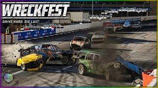 Multiplayer Debut Destruction!   Wreckfest
