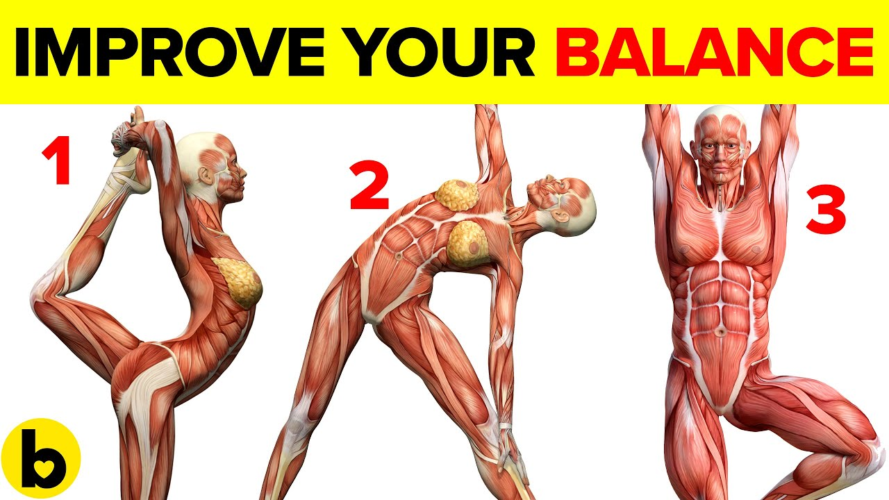 15 Easy Exercises to Improve your Balance