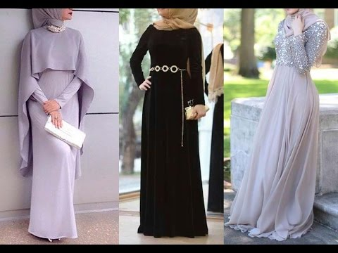 Dresses And Wear Party Hijab Styles Hijab Evening Clothes