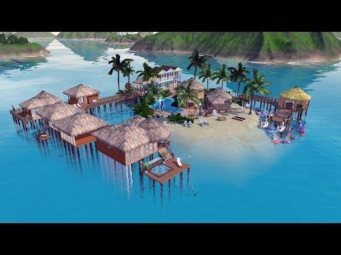 Строим в The Sims 3 I Тропический Курорт I