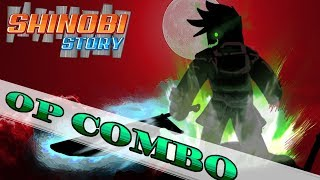 ROBLOX- Shinobi Story: A Cheap Overpowered PvP and PvE Combo (Obtainable By All)