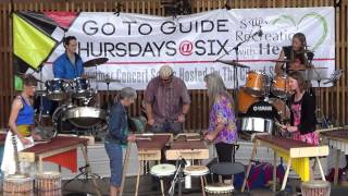 Wooden Rain Marimba performs Skokiaan and Serengeti