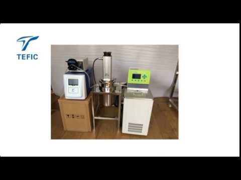 5l continuous flow industrial ultrasonic reactor