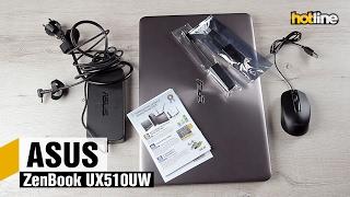 ASUS ZenBook UX510UW — обзор производительного 15,6-дюймового ноутбука