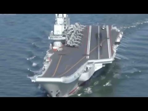 China prepares to launch first self-built aircraft carrier