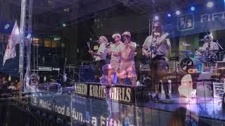 Naked Karate Girls (band) Downtown Cincinnati September 2019