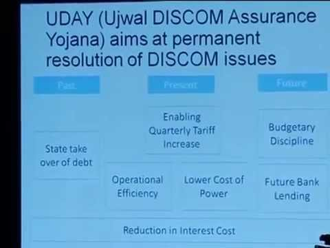 Interaction with Investors and media on UDAY (Ujwal DISCOM A