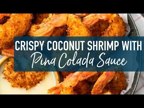 Coconut Shrimp With Pina Colada Sauce