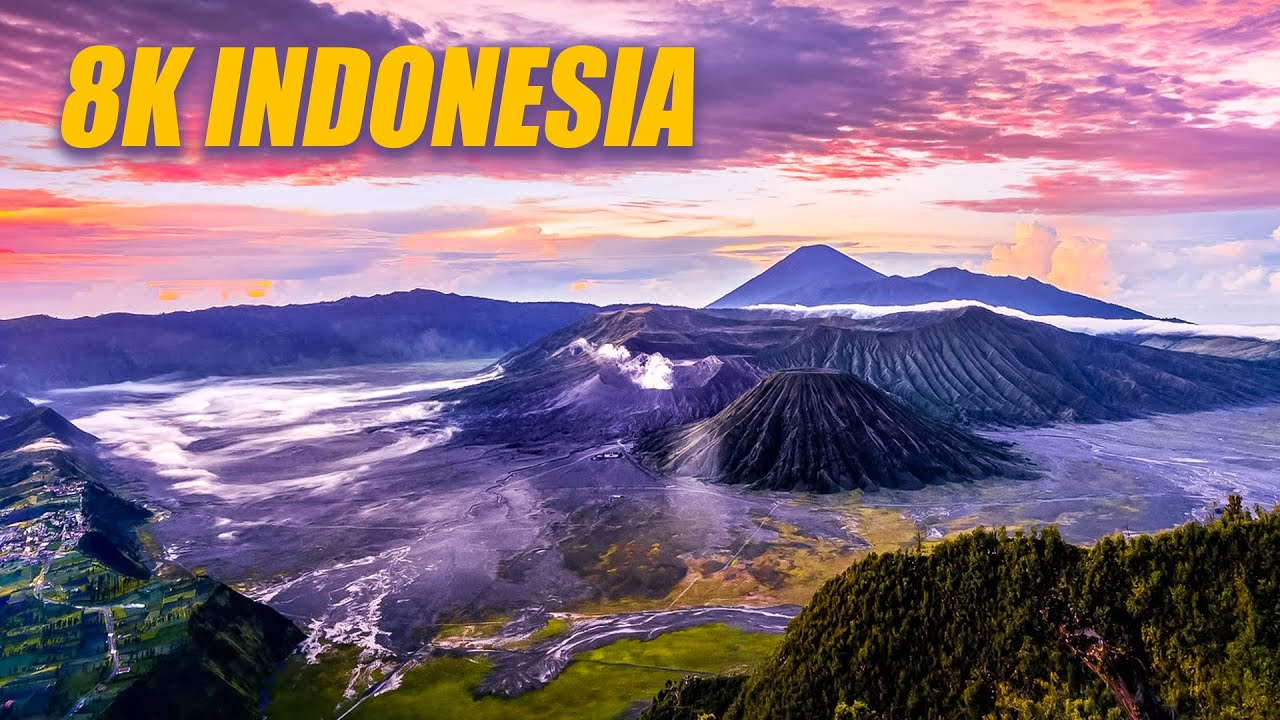 Indonesia in 8K HDR 60FPS DEMO
