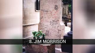 Le tombe delle celebrità più visitate