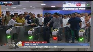 Mrt Resmi Beroperasi 1 Maret, Dprd Dki Jakarta Tetapkan Tarif Rp8500 Ribu - Bip