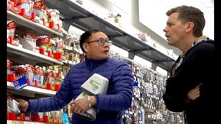 The Pooter - Man confronts guy who farts at Walmart!!