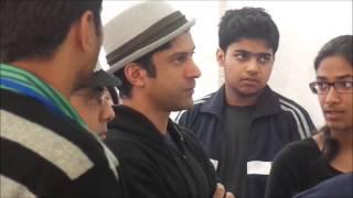 Farhan Akhtar @ NSS & Nirmaan Oasis Stall 2k13