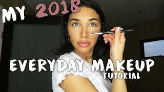 MY 2018 EVERYDAY MAKEUP TUTORIAL