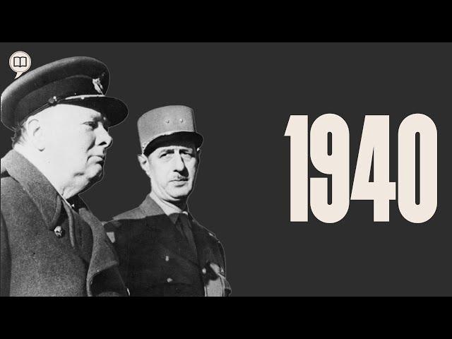 1940 - Seconde guerre mondiale tome 2   L'Histoire nous le dira