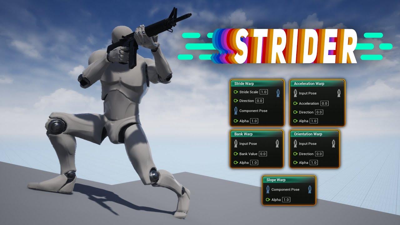 Strider for UE4: Short Trailer
