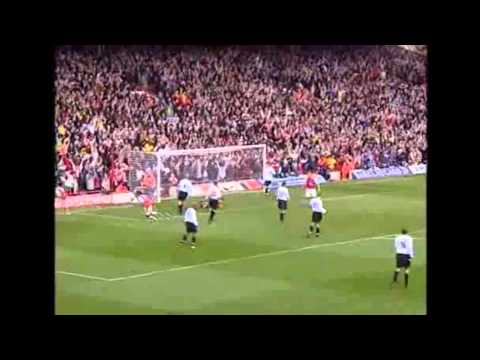 Thierry Henry goal against Liverpool on 9th April 2004