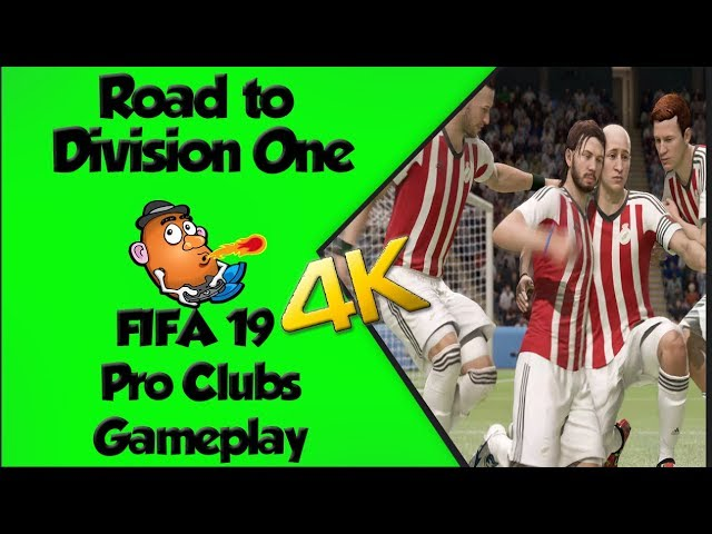 Road to Division One Pro Clubs | FIFA 19 | Xbox One X 4K Gameplay