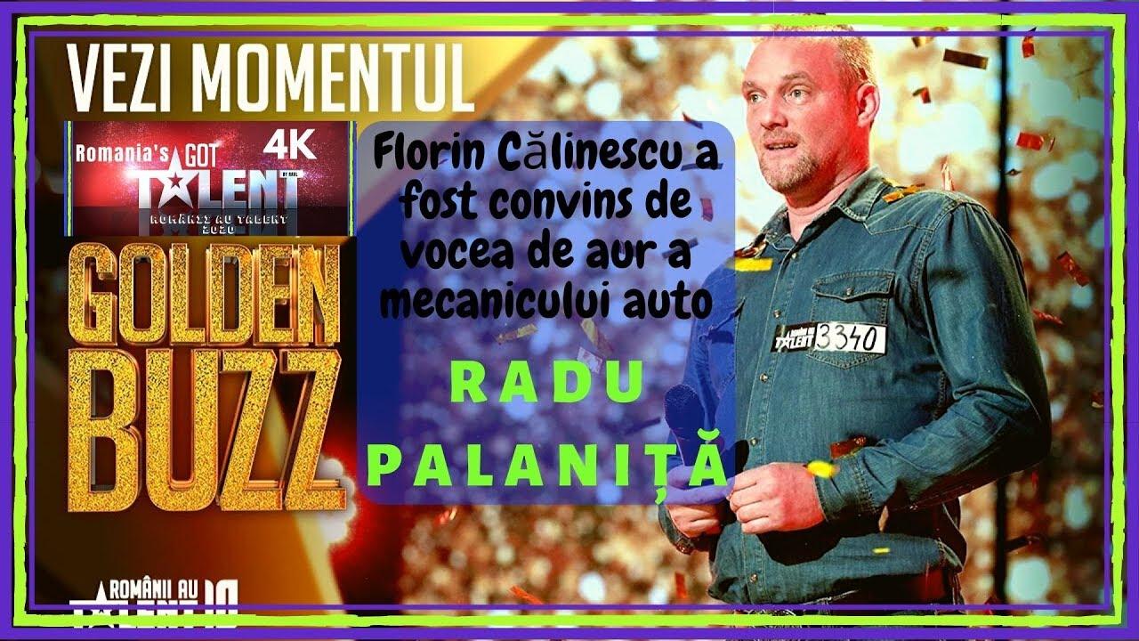 Românii au talent! GOLDEN BUZZ | Radu Palaniţă, mecanicul auto cu VOCE DE AUR! 4K Ultra HD