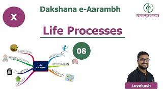 Dakshana | Aarambh | Class X | Biology | Life Processes | L08 | Lovekush