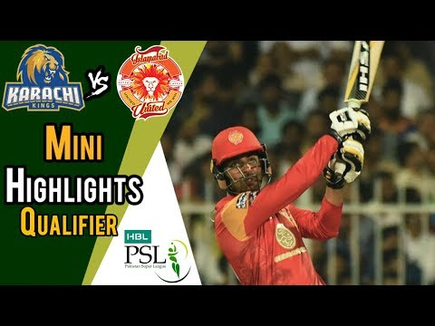 Short Highlights | Karachi Kings Vs Islamabad United  | Qualifier | 18 March | HBL PSL 2018