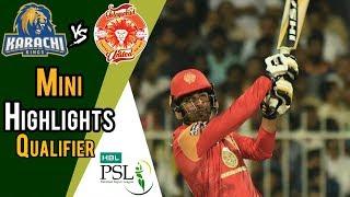 Short Highlights   Karachi Kings Vs Islamabad United    Qualifier   18 March   HBL PSL 2018