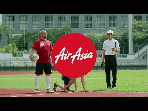 AirAsia & Roberto Carlos - Sprinter #StillGotIt
