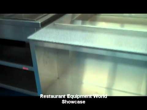 Used Barker Custom Hot Food Station For Sale