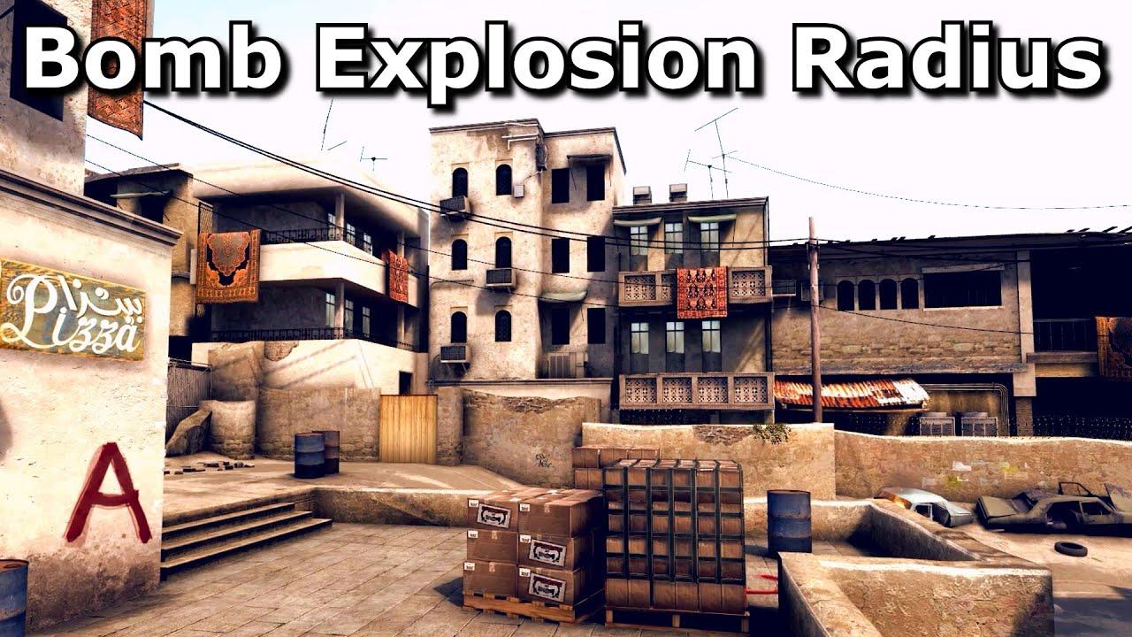CS:GO's Bomb Explosion Radius - YouTube