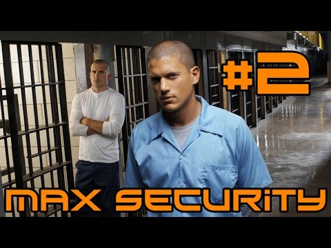 Prison Architect Luxury Max Security - First Inmates! #2