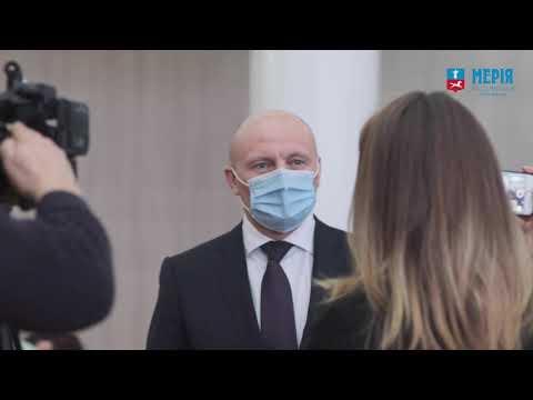 Черкаси Міська Рада: Присяга міського голови Анатолія Бондаренка