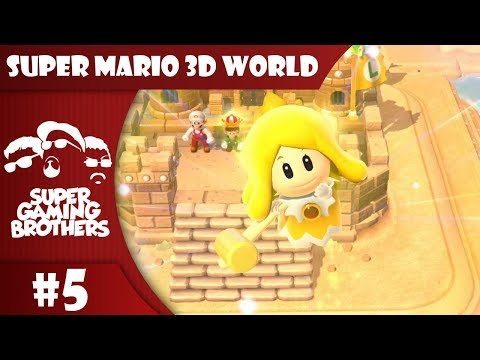 SGB Play: Super Mario 3D World - Part 5 | Breaking The Streak?