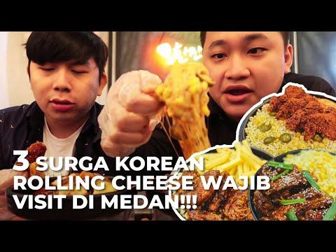 3 Korean Rolling Cheese Paling Best di Kota Medan, Yang Nomor 3 Pake Babi!