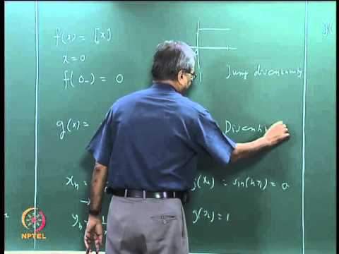 Mod-06 Lec-32 Types of Discontinuity