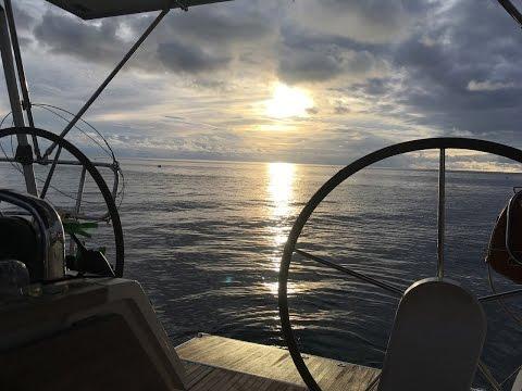 Sailing Caribbean Sea Part1