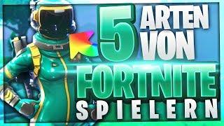 5 ARTEN VON FORTNITE SPIELERN! 🔥Teil 3 | Fortnite Spieler Die Jeder Kennt | BaumBlau