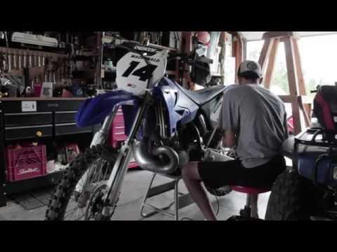 Polishing Dirtbike Swing Arm | Yamaha YZ250