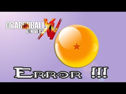 Error en Dragon Ball Xenoverse y  solución. !!
