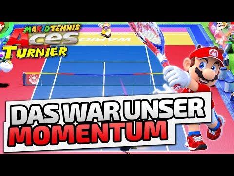 Das war unser Momentum - ♠ Mario Tennis Aces Turnier #004 ♠ - Nintendo Switch - Dhalucard