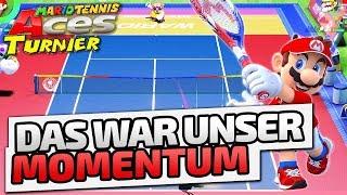 Das war unser Momentum - ♠ Mario Tennis Aces Turnier ♠ - Nintendo Switch - Dhalucard