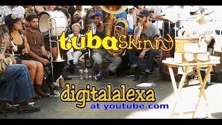 Tuba Skinny Set from Royal Street 4/12/13  - NINE SONGS   - MORE at DIGITALALEXA channel