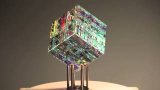 Chroma Cube by Jack Storms - The Glass Sculptor