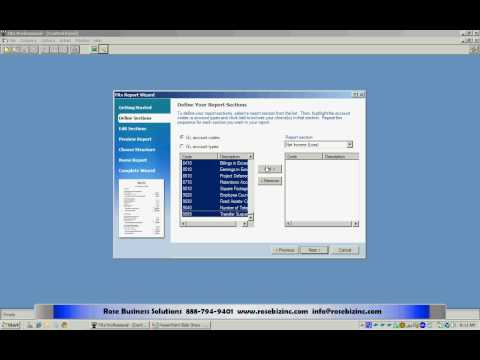 Financial Reports with FRx in Dynamics GP