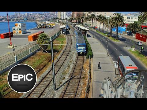 Metro de Valparaiso - Chile (HD)