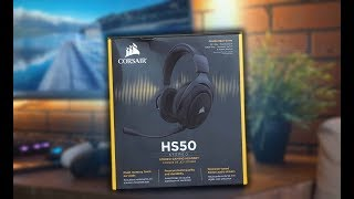 Corsair HS50 - Обзор