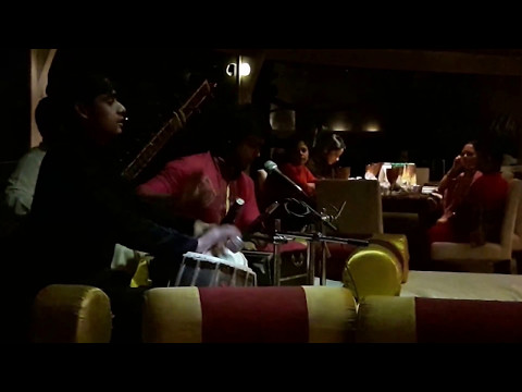 Live music at Tansen Restaurant on Necklace Road, Hyderabad