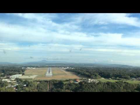 Burlington, VT approach and landing runway 15