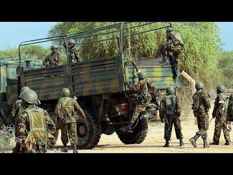 Militants attack Kenyan and US military base